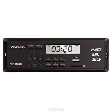 Купить Rolsen RCR-100x24, Blue автомагнитола
