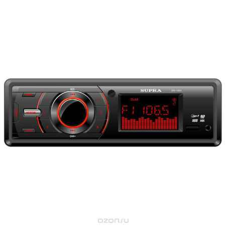 Купить Supra SFD-100U, Black автомагнитола MP3