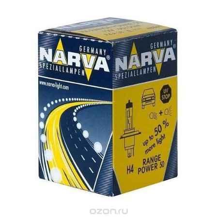 Купить Лампа автомобильная H4 12V- 60/55W (P43t) RP50 (блистер 1шт.) (Narva). 48861 (бл.1)