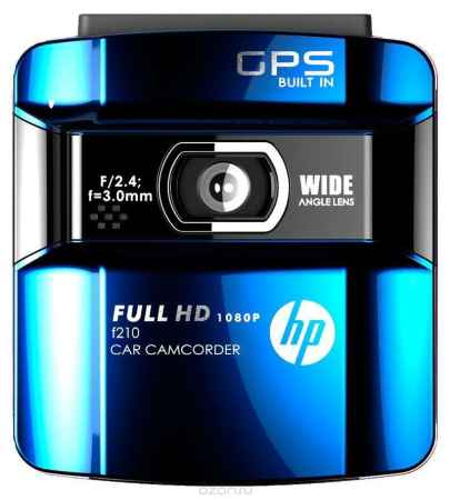 Купить HP f210b, Blue видеорегистратор