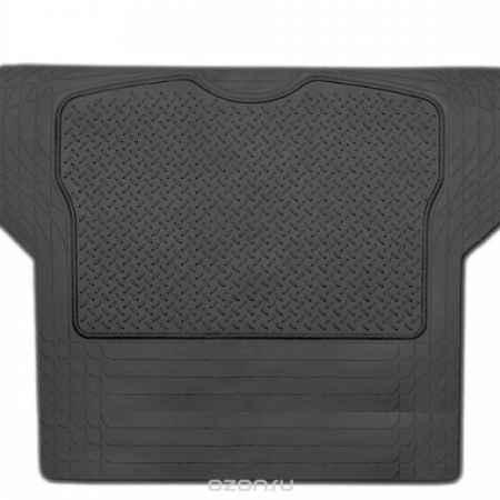 Купить Коврик в багажник Luxury, универсальный, морозостойкий, цвет: черный, 144 см х 110 см