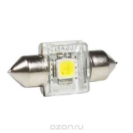 Купить Сигнальная автомобильная лампа Philips Fest T14 12V- 1W (SV8,5-30/11) LED 4000K (к.уп.1шт.). 12940 4000KX1