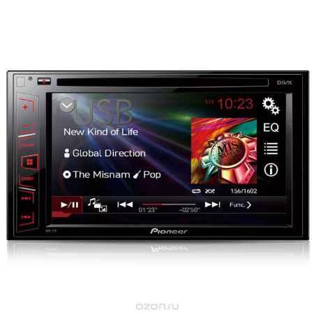Купить Pioneer AVH-170 автомагнитола CD/DVD