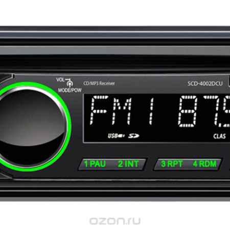 Купить Supra SCD-4002DCU, Black автомагнитола CD/MP3