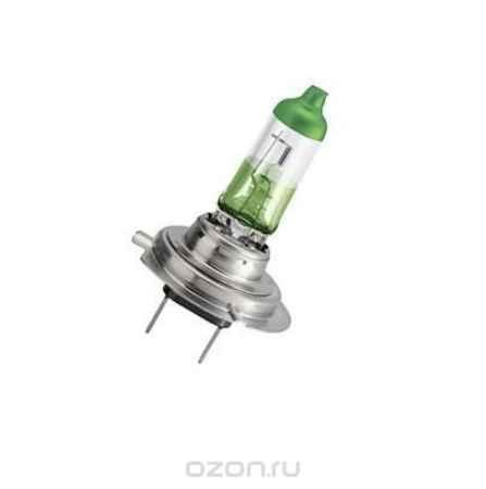 Купить Галогенная автомобильная лампа Philips H7 12V- 55W (PX26d) (белый свет-отен.зелен. в фар.нелинз.) Color Vision (2 шт.). 12972CVPGS2
