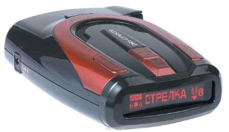 Купить Supra DRS-iG77VSTR, Red радар-детектор с GPS-приемником