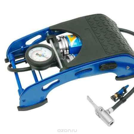 Купить Насос ножной с манометром Kraft(2 цилиндра). КТ 810002