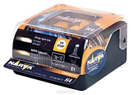 Купить Лампа автомобильная Narva HB4 12V- 55W (P22d) CO+ (п.уп 2шт) 98656