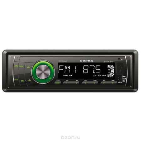 Купить Supra SFD-1011DCU, Black автомагнитола MP3