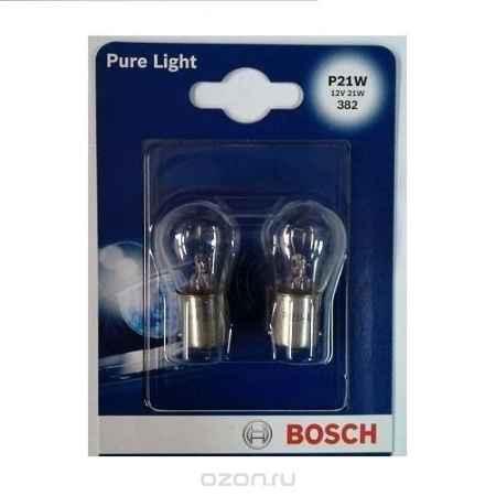 Купить Лампа накалив. д/фар/фонар. Bosch P21W 2шт