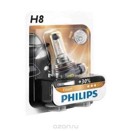 Купить Галогенная автомобильная лампа H8 12V-35W (PGJ19-1) блистер (1шт.). 12360B1 (бл.)