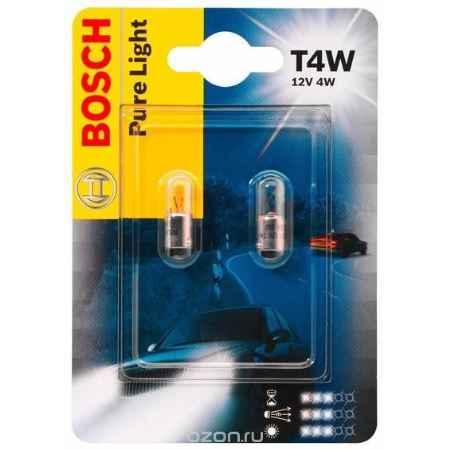 Купить Лампа Bosch T4W 2шт