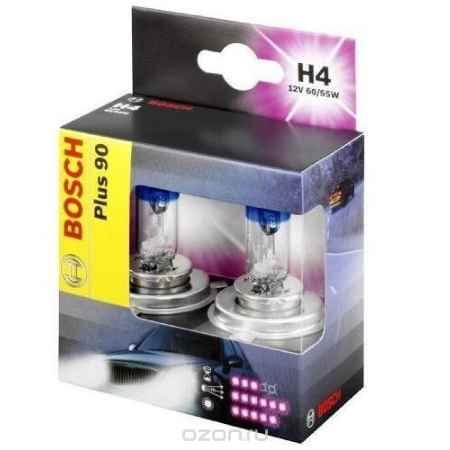 Купить Лампа Bosch Н-4 Plus 90 (2шт.)