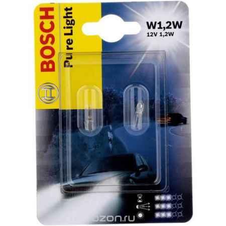 Купить Лампа Bosch W1.2W 12V 2шт