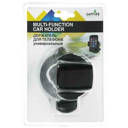 Купить Держатель для телефона Sapfire, универсальный, цвет: черный. SCH-0422