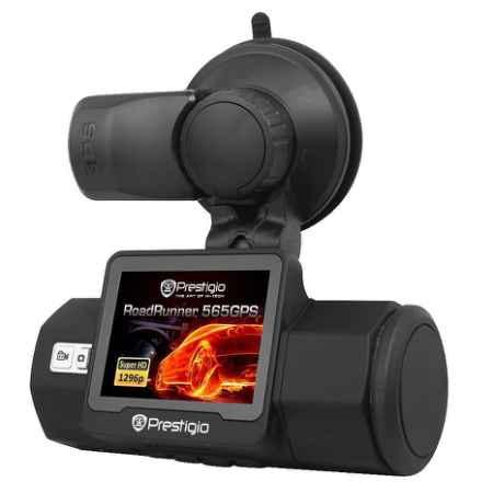 Купить Prestigio RoadRunner 565GPS, Black видеорегистратор