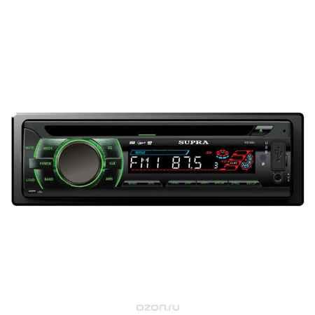 Купить Supra SCD-406U, Black автомагнитола CD/MP3