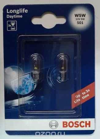 Купить Лампа Bosch W5W 12V 5W DAYTIME