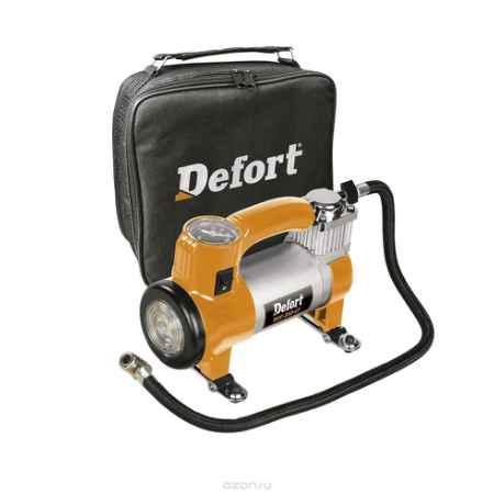 Купить Компрессор автомобильный Defort DCC-252-Lt, цвет: оранжевый