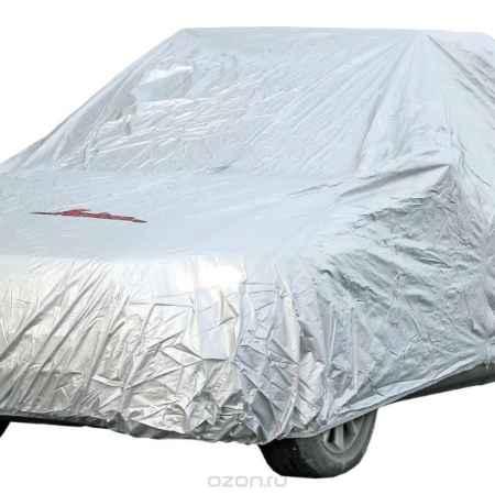 Купить Чехол-тент защитный Airline, на автомобиль, цвет: серый, 455 см х 186 см х 120 см