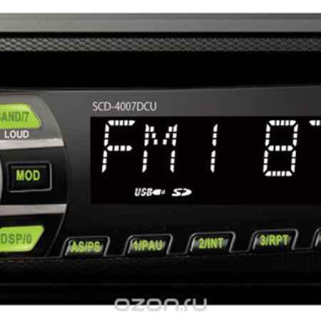 Купить Supra SCD-4007DCU, Black автомагнитола CD/MP3