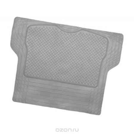 Купить Коврик в багажник Luxury, универсальный, морозостойкий, цвет: серый, 144 см х 110 см