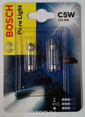 Купить Лампа Bosch C5W 12v 2шт