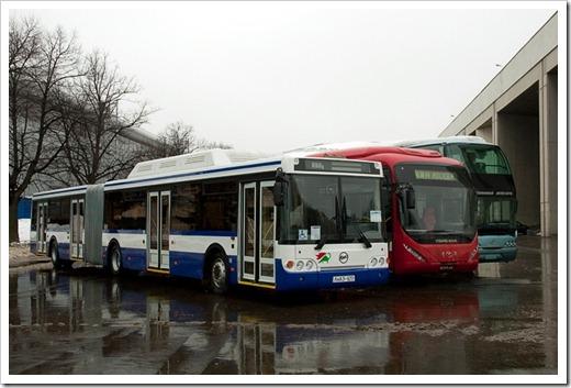 Категории общественного транспорта