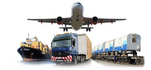 Виды перевозок в зависимости от транспорта