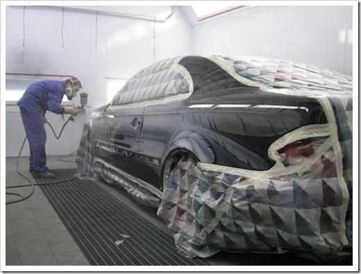 Что нужно чтобы перекрасить машину в другой цвет