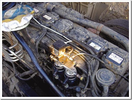 Установка GPS датчика для измерения топлива