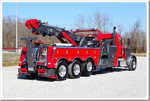 Основные особенности конструкции грузовых эвакуаторов