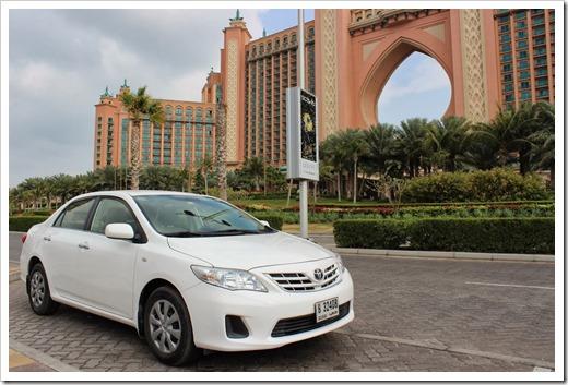 Прокат автомобилей в Дубае