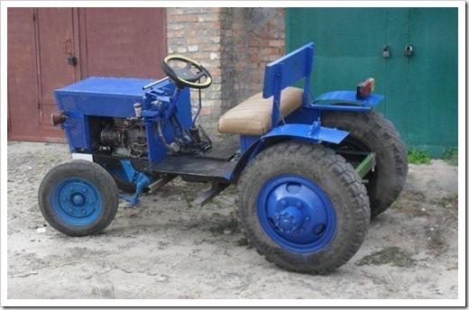 С чего начинать самостоятельное создание трактора