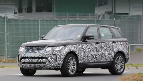 экстерьер Range Rover