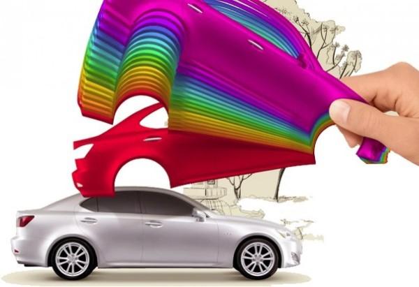 краска для автомобиля