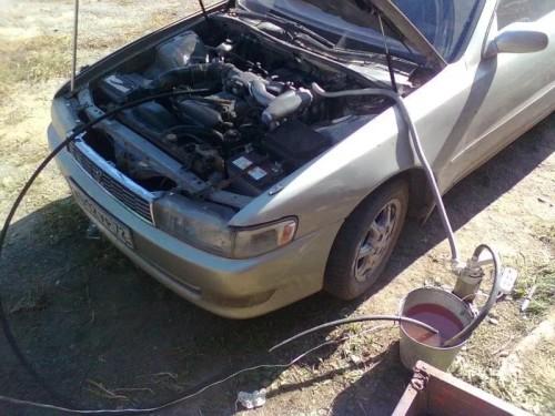 как промыть радиатор печки авто