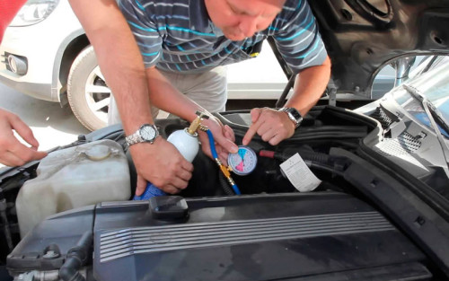 как почистить кондиционер в авто