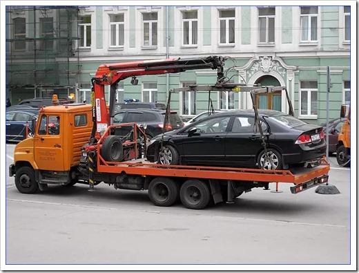 Причины, которые требуют срочной эвакуации автомобиля
