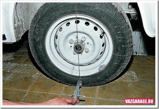 Регулировка схождения и развала колёс