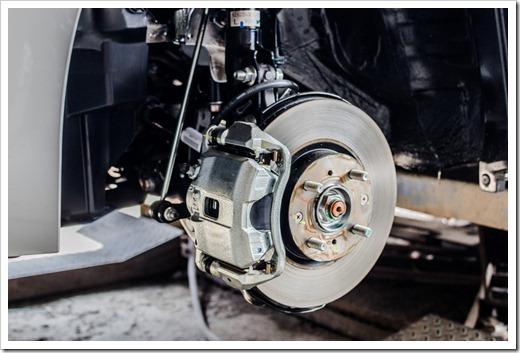 Удаление старого тормозного диска
