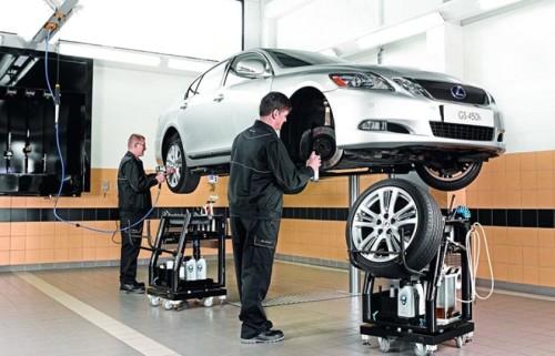 Где ремонтируют коробку автомат на Lexus