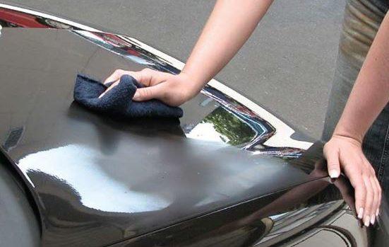 Как наносить жидкое стекло на авто