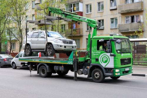 Как вызвать эвакуатор в Москве