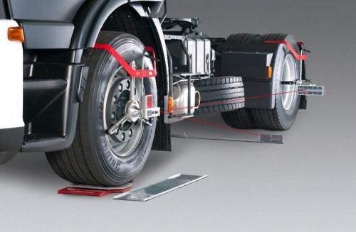 Как настроить сход-развал у грузового авто