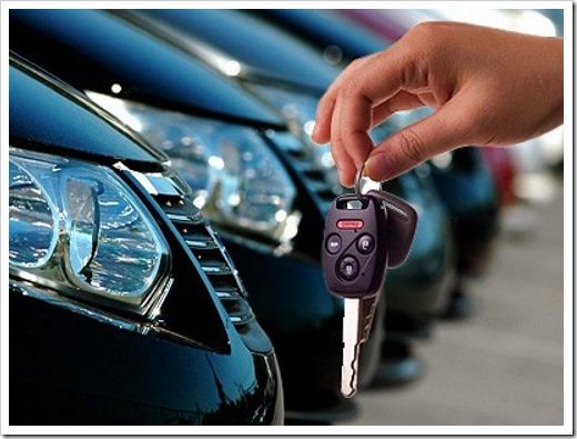 Классический набор услуг при аренде авто