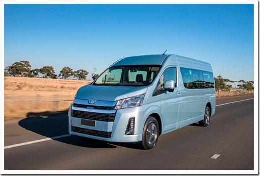 Toyota Hiace для частных и коммерческих перевозок