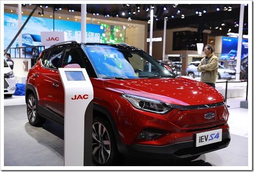 Технические характеристики JAC iEVS4